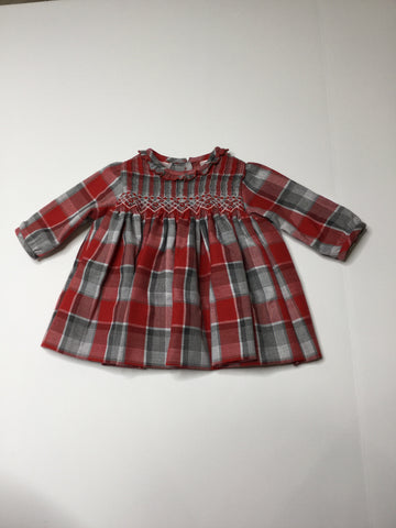 Sarah Louise Dress plaid
