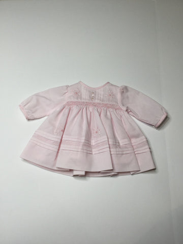 Sarah Louise Ruffle Dress pink