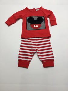 Three Sisters Mickey Two Piece Long Sleeve Boys