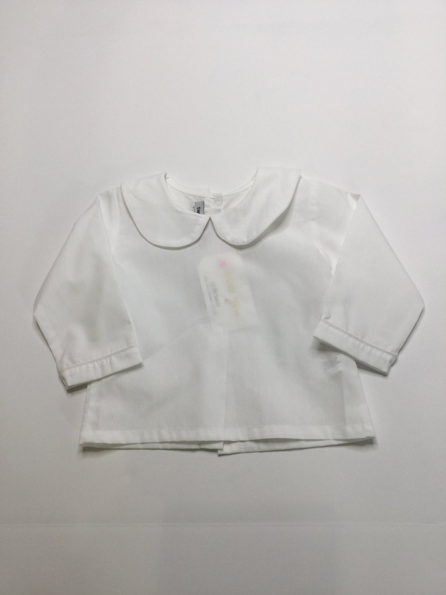 Sweet Dreams Boys Collared Shirt white