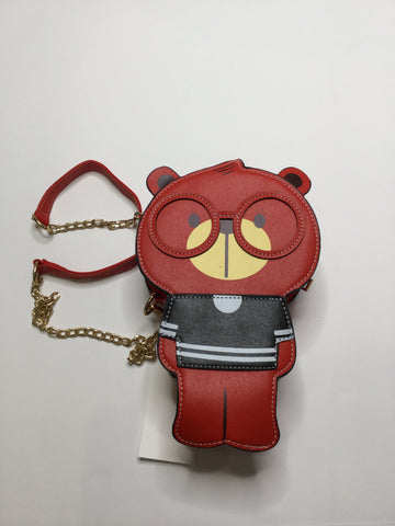 Red Bear Purse