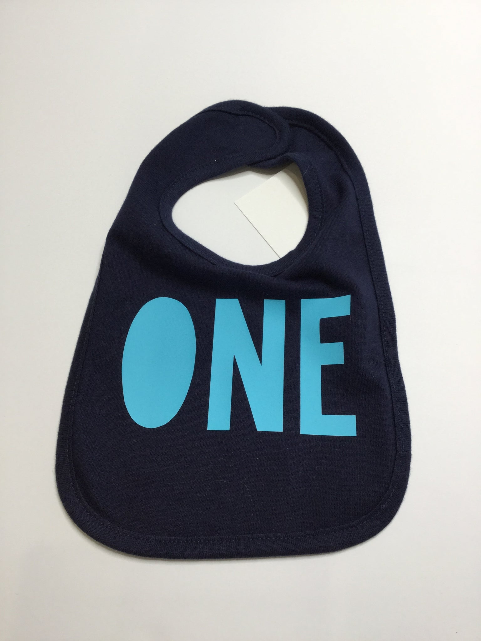 "Sweet Wink Bib Navy Blue ""ONE"""
