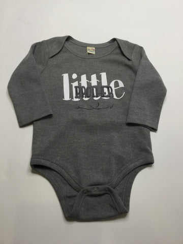 Kavio Little Brother Onesie Grey