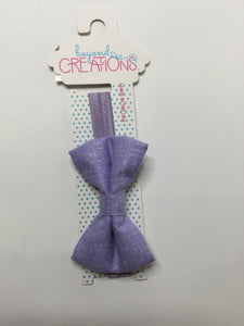 Beyond Creations Solid Bow Ties Lavendar