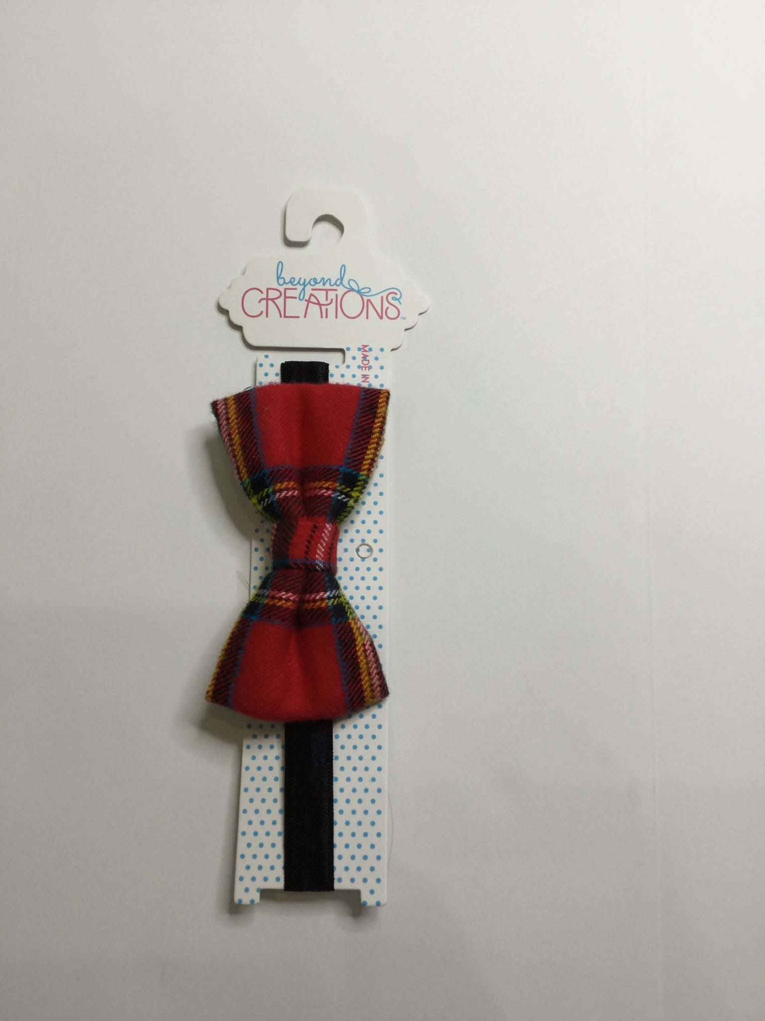 Beyond Creations Checked Bow Ties Plaid
