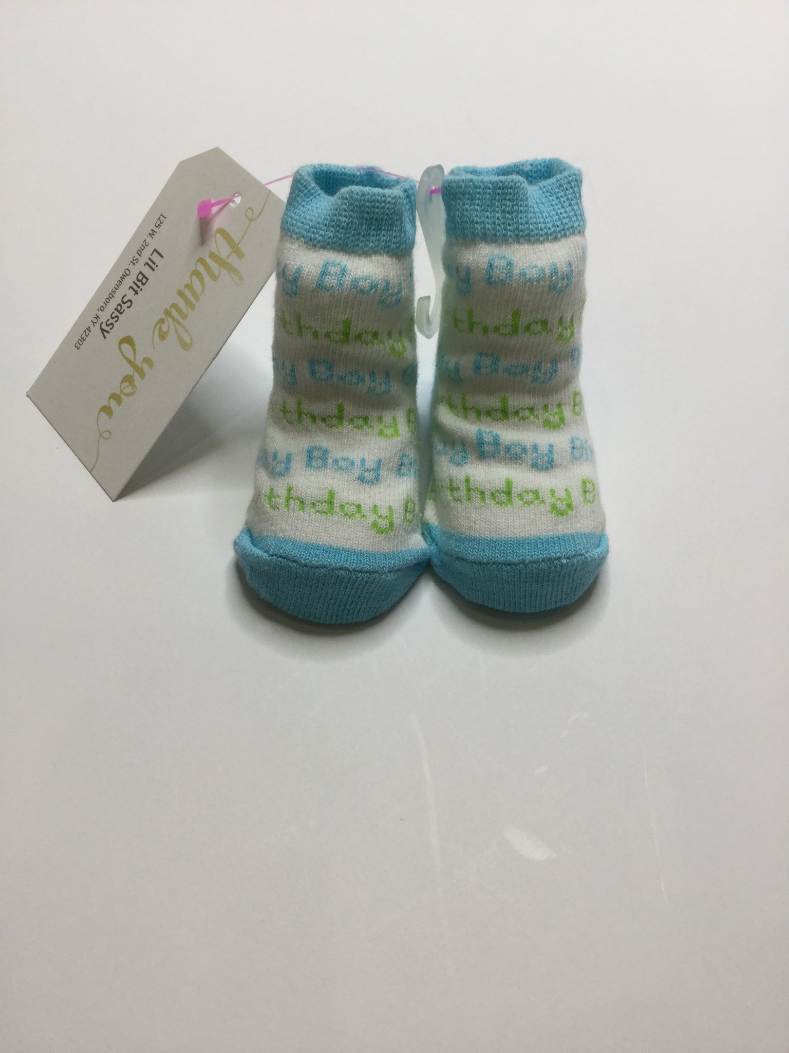 Bearington Bear Boy Birthday Socks