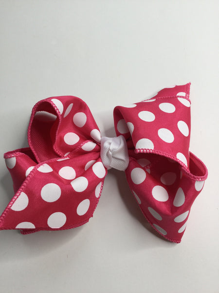 Polka-A-Dot Hair Bow