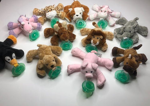NooKums Shakies Paci Plushies