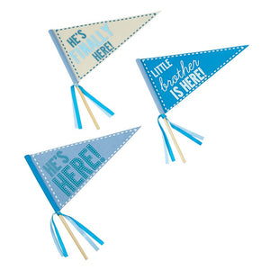 Mud Pie Little Brother Pennant Set
