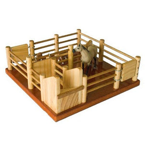 CY1 - Cattle Yard No 1 - Handmade Wooden Toy