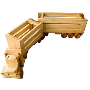 CT3 - B-Double - Handmade Wooden Truck
