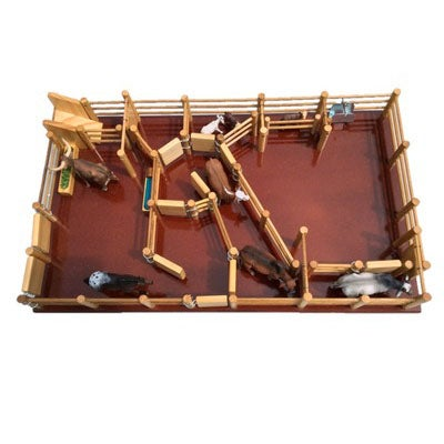 CY6 - Cattle Yard No 6 - Handmade Wooden Toy