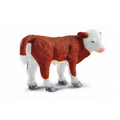 Hereford Calf Standing - Collecta
