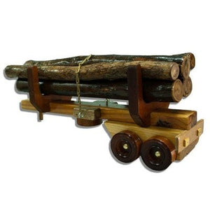 LT2 - Additional Log Trailer - Handmade Timber Truck