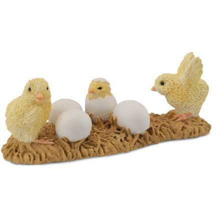Chicks with Eggs - Collecta