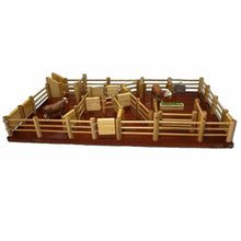 Load image into Gallery viewer, CY6 - Cattle Yard No 6 - Handmade Wooden Toy
