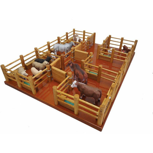 CY7 - Feedlot - Handmade Wooden Toy