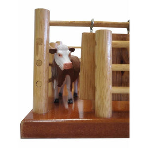 CY8 - Station Cattle Yard No 8  - Handmade Wooden Toy