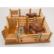 Load image into Gallery viewer, CY1 - Cattle Yard No 1 - Handmade Wooden Toy