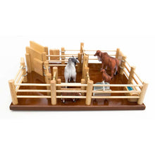 Load image into Gallery viewer, CY2 - Cattle Yard No 2 - Handmade Wooden Toy