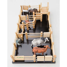 Load image into Gallery viewer, CY3 - Cattle Yard No 3 - Handmade Wooden Toy