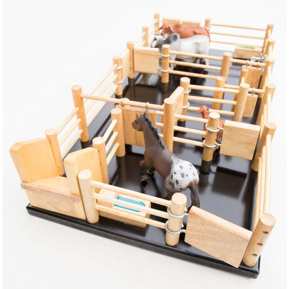 CY3 - Cattle Yard No 3 - Handmade Wooden Toy