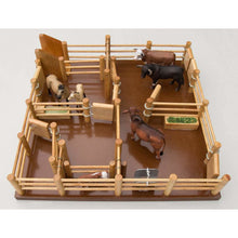 Load image into Gallery viewer, CY4 - Cattle Yard No 4 - Handmade Wooden Yard