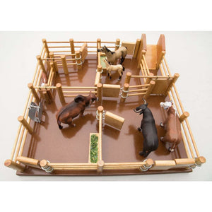 CY4 - Cattle Yard No 4 - Handmade Wooden Yard