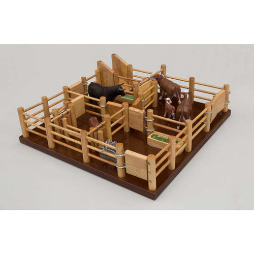 CY5 - Cattle Yard No 5 - Handmade wooden toy