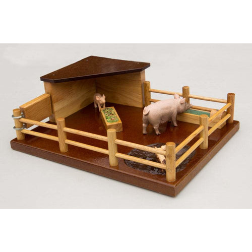 PP1 - Pig Pen - Handmade Wooden Toy