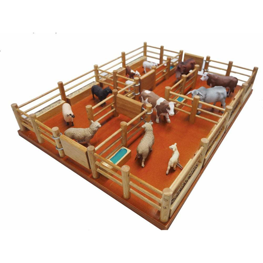CY10 - Feedlot - Handmade Wooden Toy