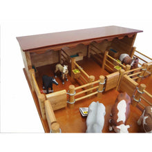 Load image into Gallery viewer, ST3 - Three Horse Stable with Cattle Yard