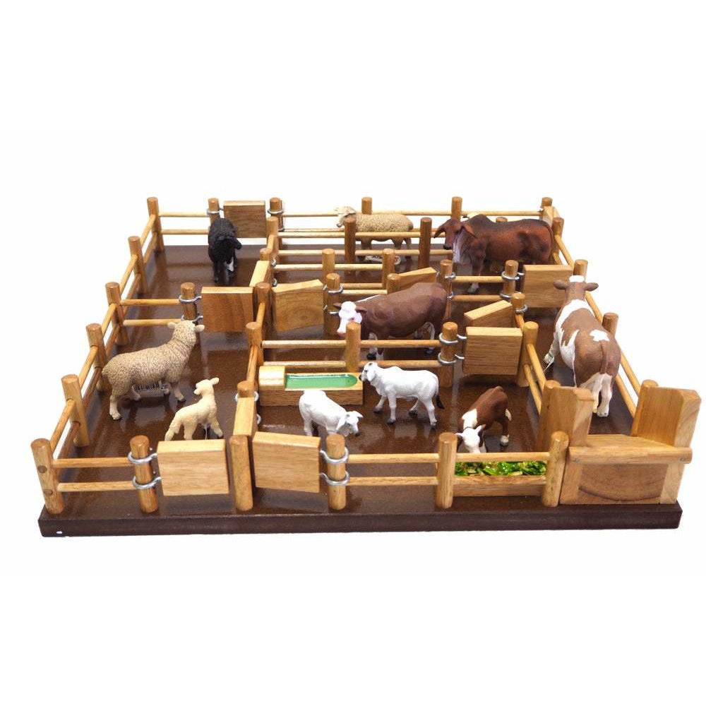 SY1 - Sheepyard - Hand made Timber Toy