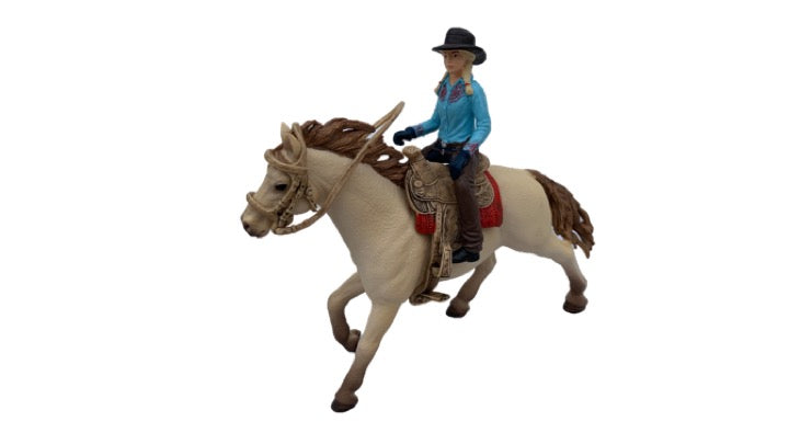 Horses - Western Rider with Horse