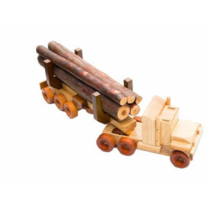 LT1 - Log Truck - Handmade Wooden Toy
