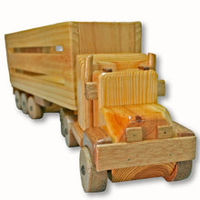Load image into Gallery viewer, CT1 - Cattle Truck - Handmade Wooden Truck