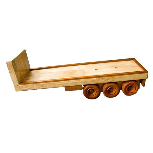 FT2 - Flat Back Trailer - Handmade Wooden Toy