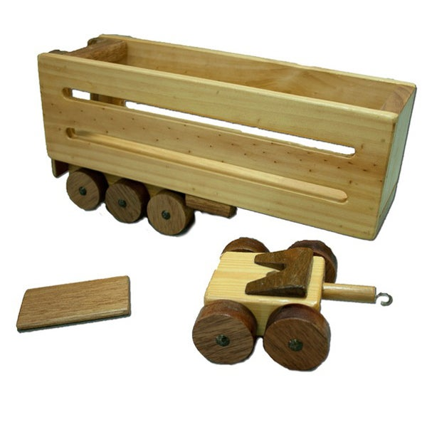 CT2 - Additional Cattle Trailer - Handmade Wooden Truck Trailer
