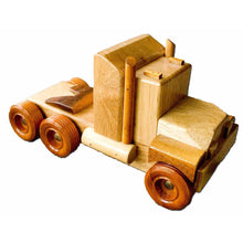 Load image into Gallery viewer, LT1 - Log Truck - Handmade Wooden Toy
