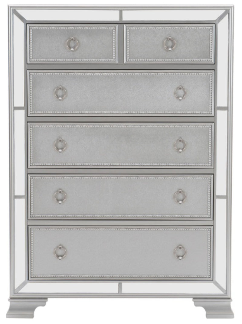 Homelegance Avondale Chest in Silver 1646-9 image