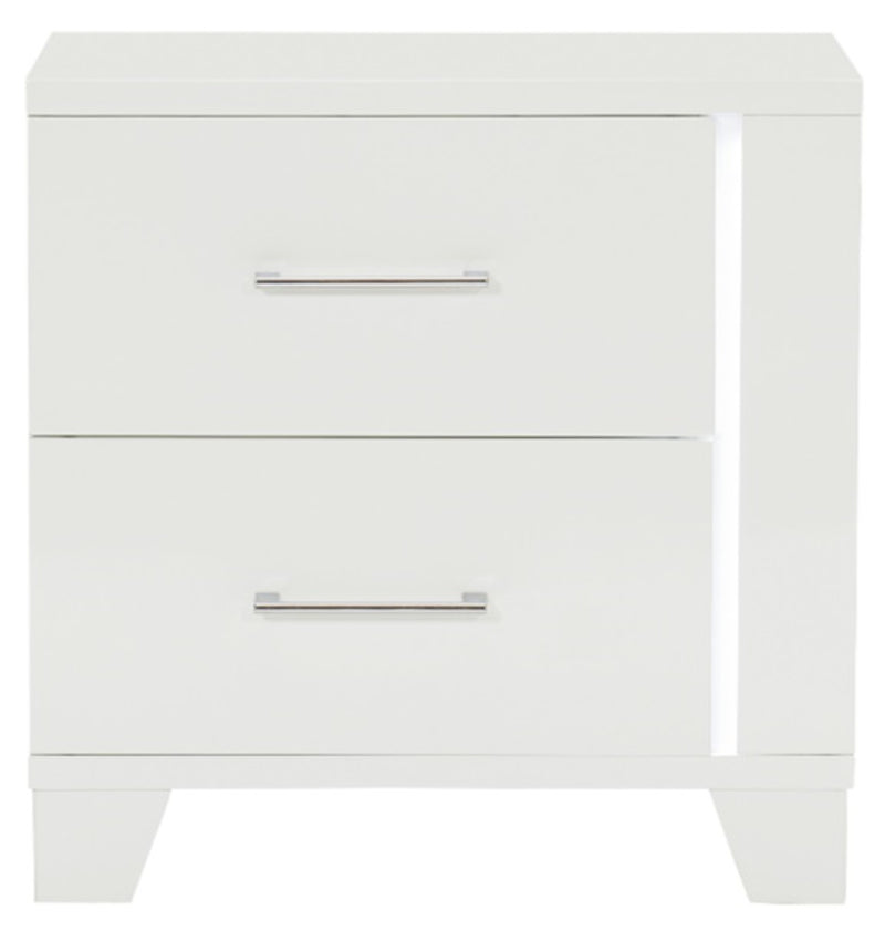 Homelegance Kerren Nightstand in White 1678W-4 image