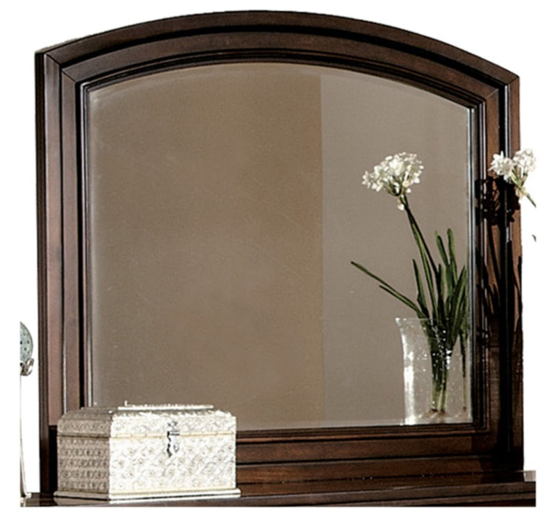 Homelegance Cumberland Mirror in Brown Cherry 2159-6 image