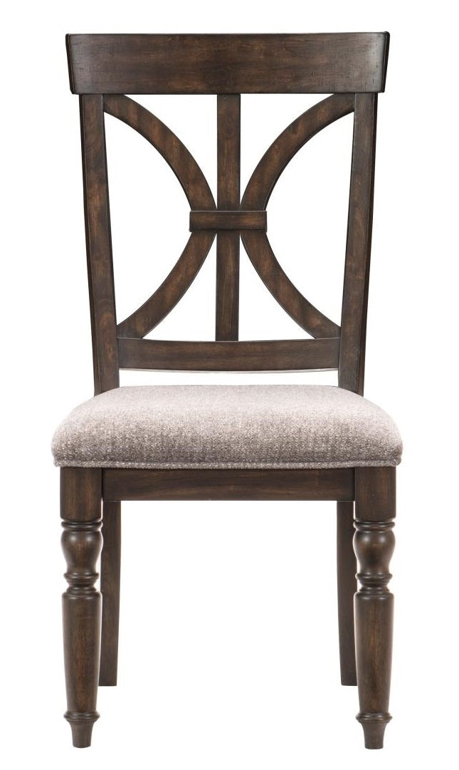 Homelegance Cardano Side Chair in Charcoal (Set of 2) image