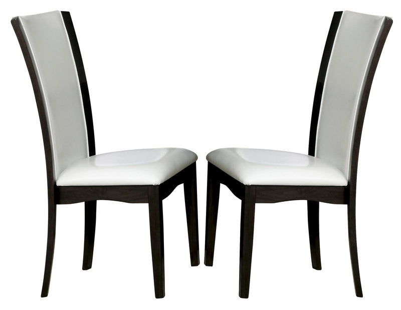 Homelegance Daisy Side Chair in White (set of 2) 710WS image