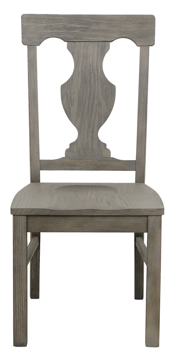 Homelegance Toulon Side Chair in Dark Pewter (Set of 2) image