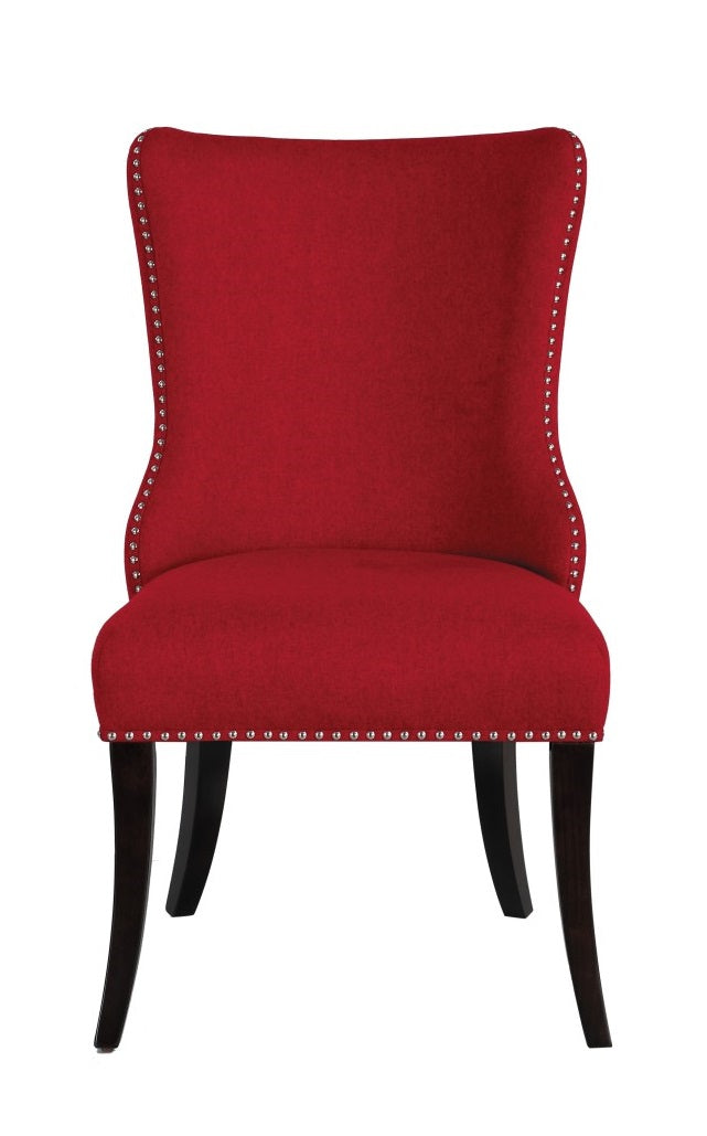 Homelegance Salema Side Chair in Red (Set of 2) image