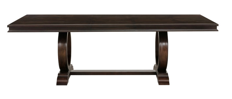 Homelegance Oratorio Dining Table in Dark Cherry 5562-96* image