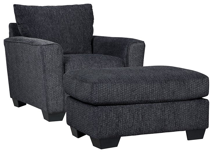 Wixon Benchcraft 2-Piece Chair & Ottoman Set