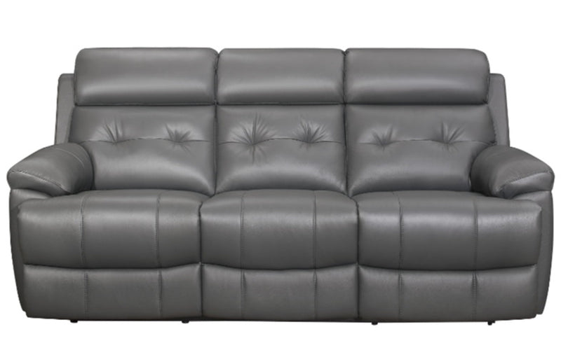 Homelegance Furniture Lambent Double Reclining Sofa in Dark Gray 9529DGY-3 image