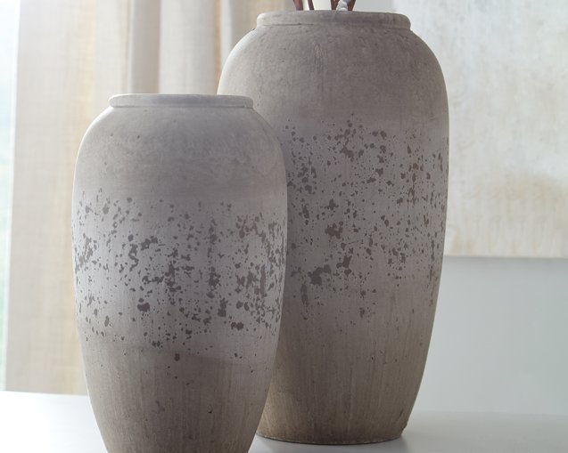 Dimitra Signature Design by Ashley Vase Set of 2